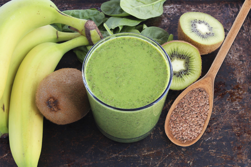 green-smoothie-flax